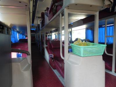 ベトナムのハティエンからホーチミン行きのバス