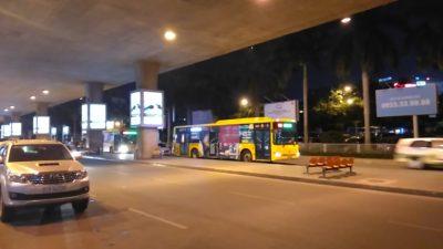 ホーチミンのタンソンニャット国際空港の109市内行きバス