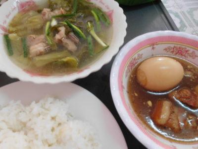 カンボジアのカンポットの安くておいしい食堂