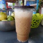 カンボジアのカンポットのおいしい飲み物