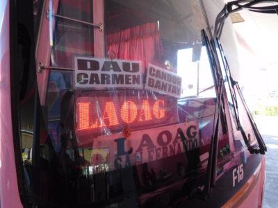 アンヘレスからラウニオンやラオアグ行きのバス