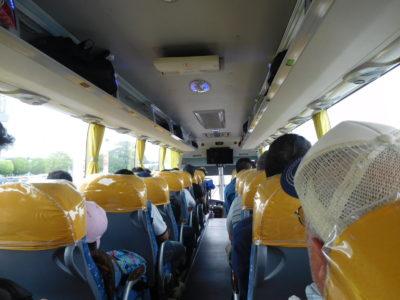 アンヘレスからマニラ国際空港行きのバス