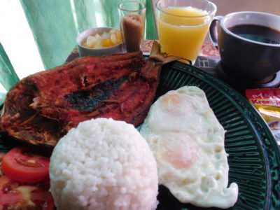 ダグパンのおすすめホテルラグタイムスイーツの朝食