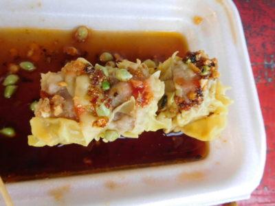 パンガシナンのダグパンで食べた熱々のシュウマイ