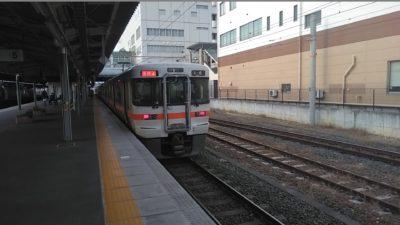 JR大垣行きの電車