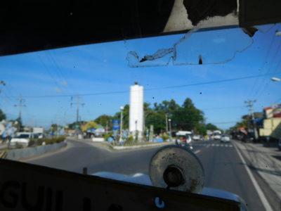 ラウニオンのポロポイントへ行く時のトライシクル乗り場