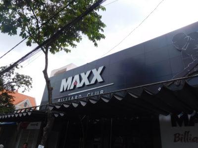 ベトナムのカントーのビリヤードクラブMAXX