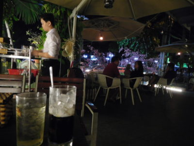 ベトナムのカントーの高級カフェ