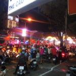 U-23アジア選手権決勝前後のベトナムのカントーはお祭り騒ぎ