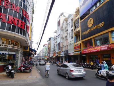 ベトナムのソクチャンの街並み