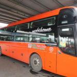 ベトナムのカントーからホーチミン国際空港へバス移動