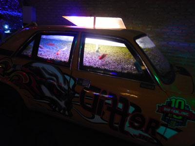 チェンマイのDifferの車水槽