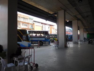 チェンライの新しいバスターミナル1