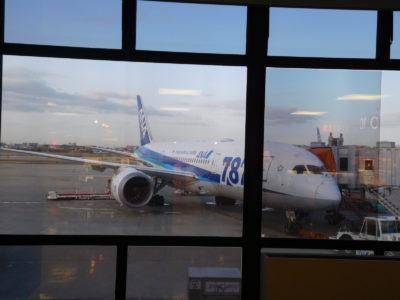 伊丹空港のANA787