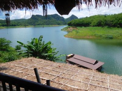 チェンライ近郊のMea Suai dam