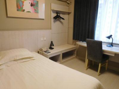 中国長沙のおすすめジンジャンインホテルの部屋