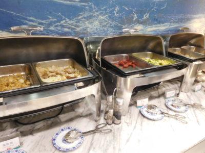 中国長沙のおすすめジンジャンインホテルの朝食