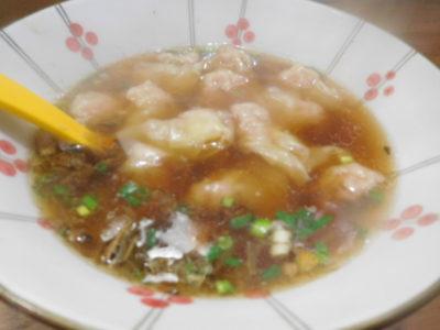 長沙太平街のおいしいワンタンスープ