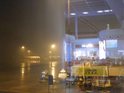 中国長沙のタイライオンエアの飛行機