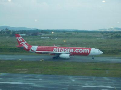 クアラルンプール国際空港のエアアジア