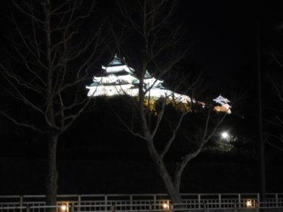 和歌山城のライトアップ