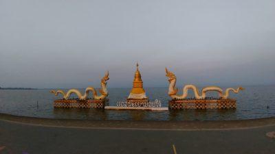 タイ北部のパヤオの大きな湖