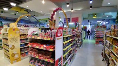 タイ北部のパヤオの安いスーパー