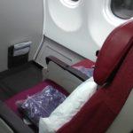マレーシア航空のおかしな機内食とせわしい座席