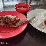 マレーシアのマラッカのおいしい薄餅と魚カレー?、文化祭