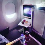 【ビジネスクラス搭乗記】タイ航空TG517バンコクドバイ便A350-900