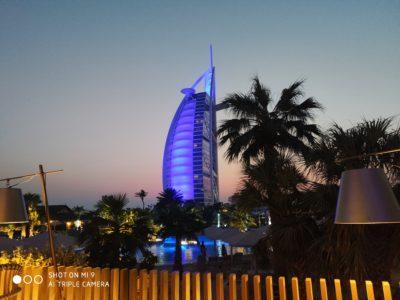 ドバイのブルジュ・アル・アラブホテル