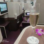 【ビジネスクラス搭乗記】タイ航空TG518ドバイバンコク便A350-900