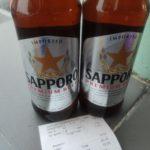 サッポロビールが50円で売っていたマレーシアのランカウイ島