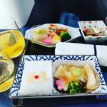 ANAビジネスクラス機内食もANAラウンジの食事もおいしくない。
