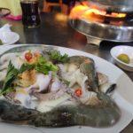 【野暮用】ベトナム南部のカオランの海鮮居酒屋でまたデート