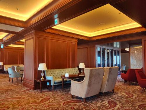 ANAクラウンプラザホテル大阪のラウンジ