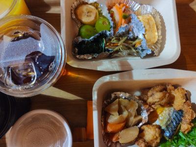 ホリデイ・イン大阪難波の朝食