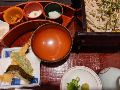 京料理田ごと The CUBE店のそば食べ放題ふるまいそば