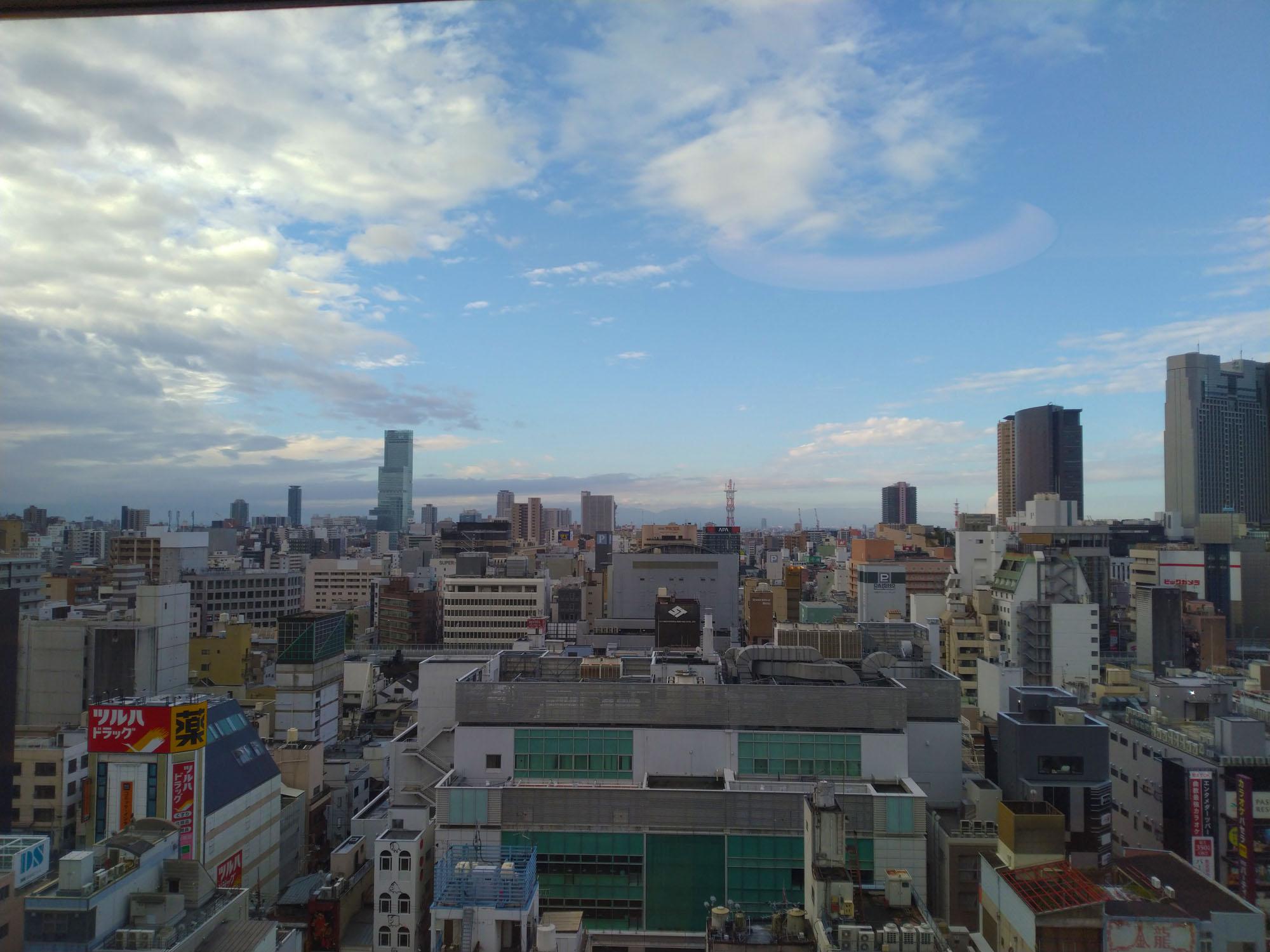 イビススタイルズ大阪難波からの景色